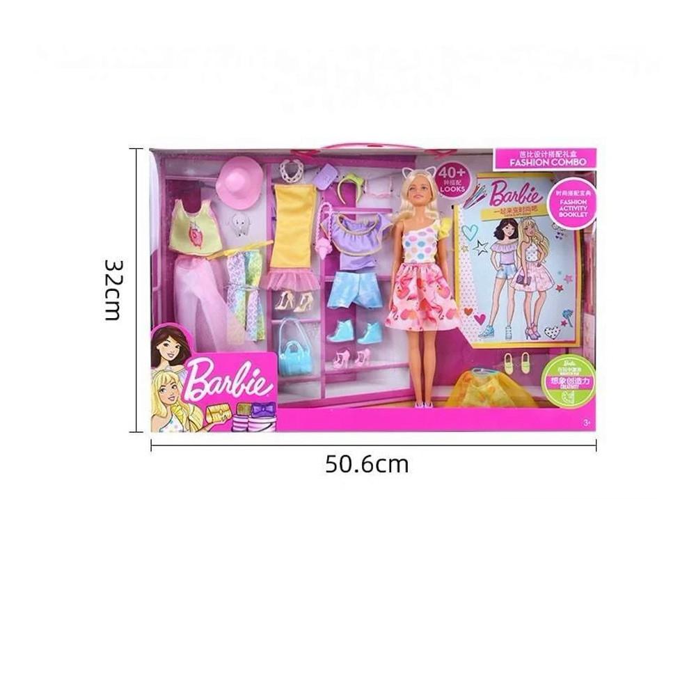 Игрушка игровой набор кукла Барби с комплектом одежды. Оригинал! - фото 2