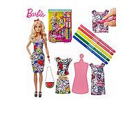 Набор кукла барби цвет моды. Кукла BARBIE цвет моды Оригинал!