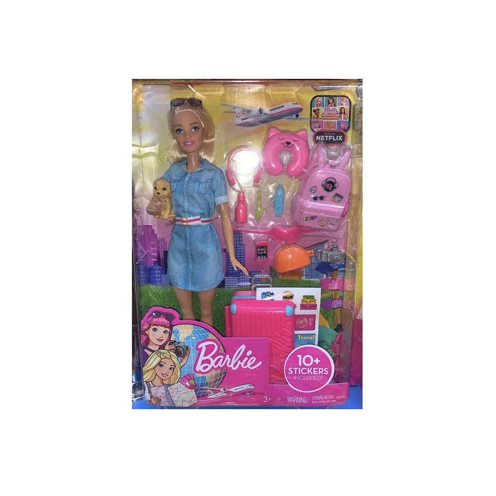 Набор кукла барби путешествие. Кукла BARBIE путешественница Оригинал! - фото 3