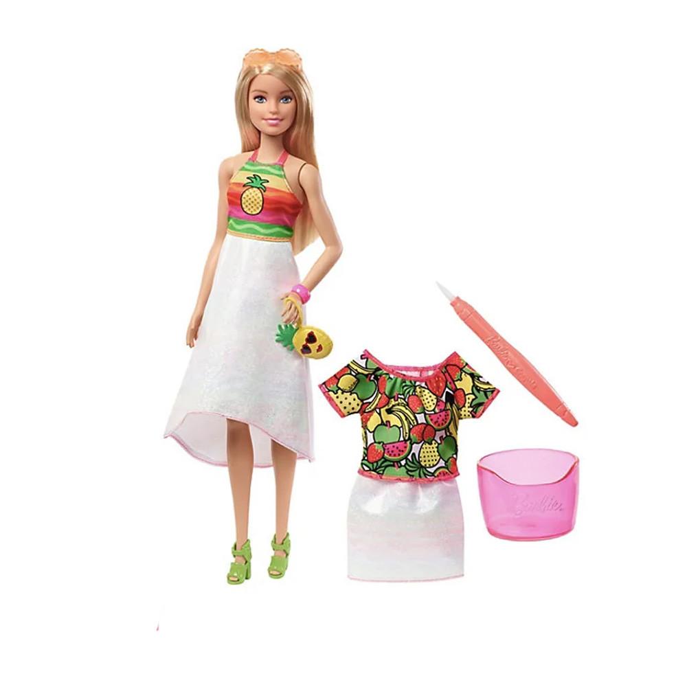 Набор кукла барби крайола радуга фруктовый сюрприз. Кукла BARBIE CRAYOLA Оригинал! - фото 1