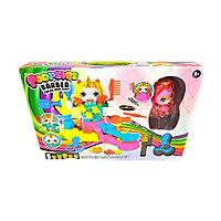 Детский игровой набор из пластилина единорожка. Модель: NO.6627