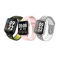 Cмарт часы Фитнес браслет с измерением пульса и давления.