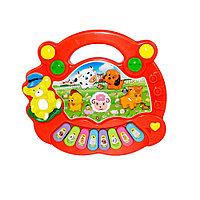 Детская игрушка музыкальная пианино счастья животных. Модель: NO.5097