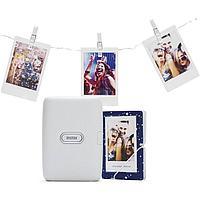 Подарочный набор Fujifilm Instax Mini Link Ash White (в комплекте моментальный/карманный принтер для смартфона
