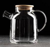 Чайник заварочный Эко с металлическим ситом 1,7 л
