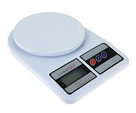 Весы кухонные LuazON LVK-704 (электронные, до 7 кг, белые)