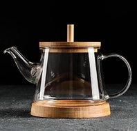 Чайник заварочный Бамбук, 600 мл