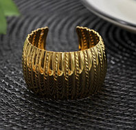 Кольцо для салфетки Корона, 4,8×3 см, цвет золотистый