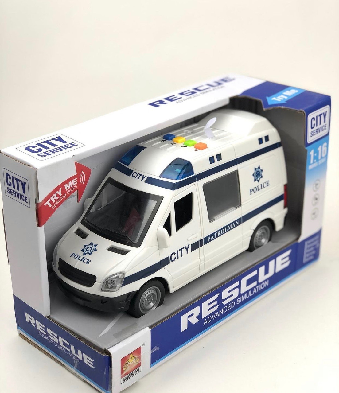 """Полицейская машина """"City Service"""""""