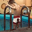 Подгузники для плавания из неопрена цветок, фото 2