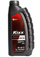 Моторное масло Kixx PAO1 0w40 1L