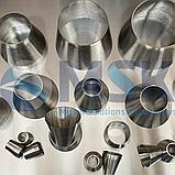 Переходы нержавеющие, сталь AISI 304, стандарт DIN 2615, EN 11852, фото 3