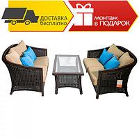 Комплект кофейной мебели Light (Журнальный стол+2 дивана )