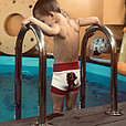 Подгузники для плавания из неопрена маинкрафт, фото 2
