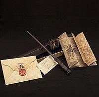 Набор Волшебная палочка Гарри Поттера + Письмо из Хогвартса + Карта Мародеров + Билет на платформу 9 и 3/4