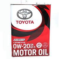 Оригинальное моторное масло TOYOTA SNplus GF-5 0w20 4L