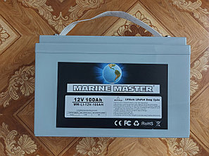 Аккумулятор LiFePO4 12 В. глубокого разряда 100 Ам\ч, фото 2