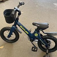Детский двухколесный велосипед Batler bike 14 темно синий