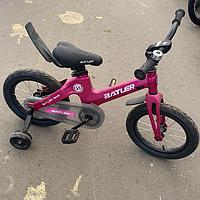 Детский двухколесный велосипед Batler bike 14 малиновый