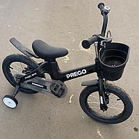 Детский двухколесный велосипед Prego 14 черный