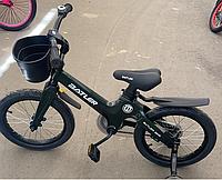 Детский двухколесный велосипед Batler bike 16 зеленый