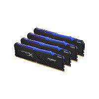 Комплект модулей памяти Kingston HyperX Fury RGB HX432C16FB3AK4/32 DDR4 32G (4x8G) 3200MHz