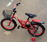 Велосипед двухколесный красный 0220