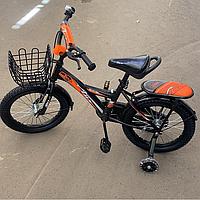 Велосипед двухколесный оранжевый 0220