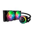 Водяное охлаждение для CPU CoolerMaster MasterLiquid ML240R RGB (Black)