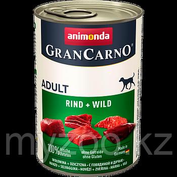 Консервы Grand Carno Original Adult с говядиной и дичью