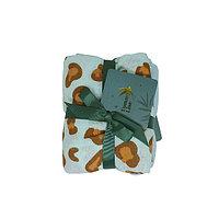 30. 701323 Набор пеленок BLUE LEOPARD SET 70*70 см (100% хлопок)