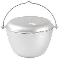 Казан походный с крышкой-сковородой 4 литра, литой алюминий, фото 1