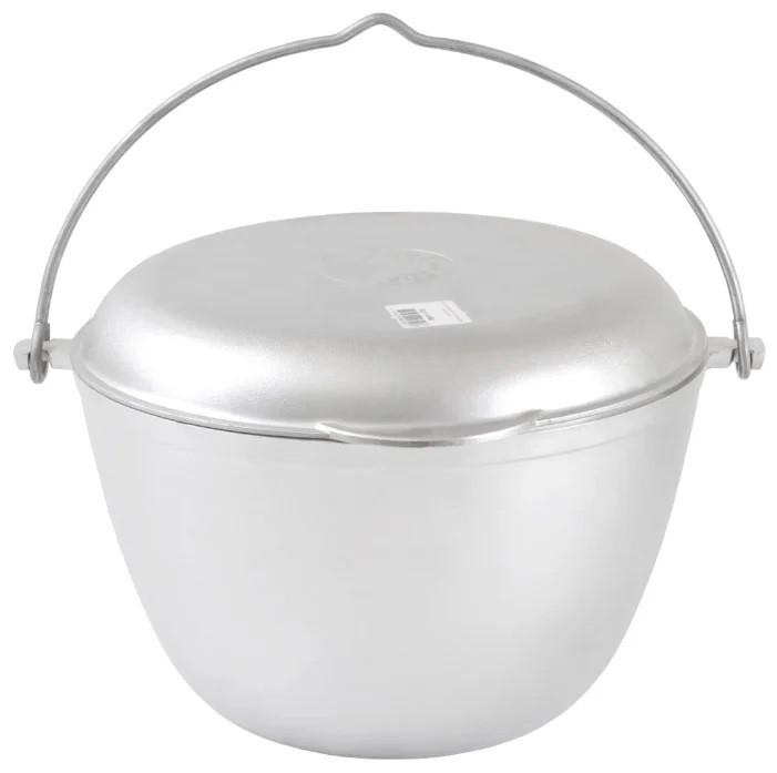 Казан походный с крышкой-сковородой 5 литров, литой алюминий