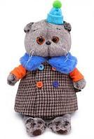 Кот Басик в комбинированном пальто 30 см
