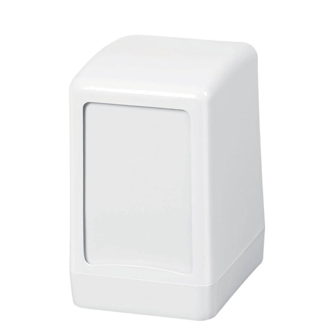 Диспенсер для настольных салфеток Wespa, белого цвета (эконом класс)