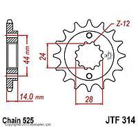 Звезда ведущая JTF314-16, F314-16, JT sprockets