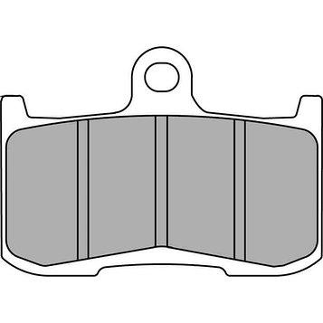 Колодки тормозные дисковые, FERODO FDB2158ST