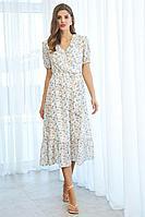 Женское летнее платье AYZE 1997 мультиколор 42р.