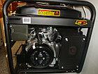 Бензиновый генератор Huter DY6500L, фото 5
