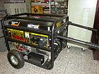 Бензиновый генератор HUTER DY6500LX с колесами, фото 2