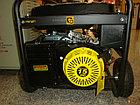 Бензиновый генератор HUTER DY6500LX с колесами, фото 3