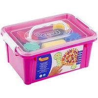 Набор красок для рисования руками с аксессуарами в чемодане, JOVI, для малышей
