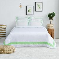 Постельное бельё Этель евро 'Elite dreams' цвет зелёный, 200 x 220 см, 260 x 240 см, 70 x 70 см - 2 шт., 50 x