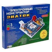 Электронный конструктор 'Знаток' для школы и дома, 999 схем