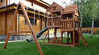 Деревянные детские игровые комплексы из США