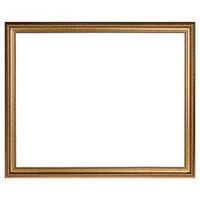 Рама для картин (зеркал) 40 х 50 х 3.3 см, пластиковая, Dorothy золотая