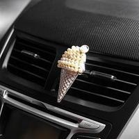 Украшение в дефлектор автомобиля 'Мороженое', микс