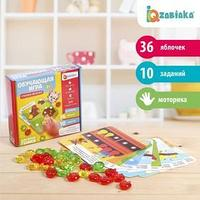 Обучающая игра-сортер 'Считаем яблочки', 36 разноцветных яблочек