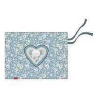Накладка на стол текстильная (складная) А3 450*330 ErichKrause дев Lacey Heart 52730