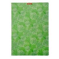 Тетрадь А4, 48 листов в клетку Clover, пластиковая обложка, блок офсет